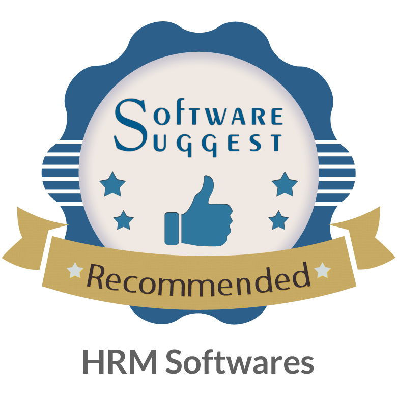 Top10 Recommended HRMS Software Badge