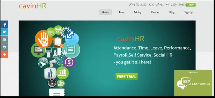 free hr software CavinHR