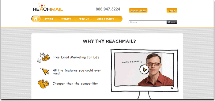 Free Email Marketing Software reach mail