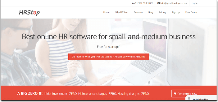 free hr software - Hrstop