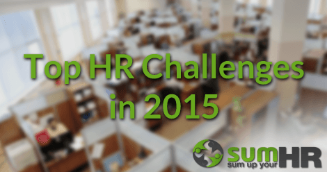 top hr challanges in 2015