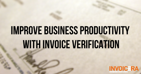 Improve Business Productivity With Invoice Verification-SS