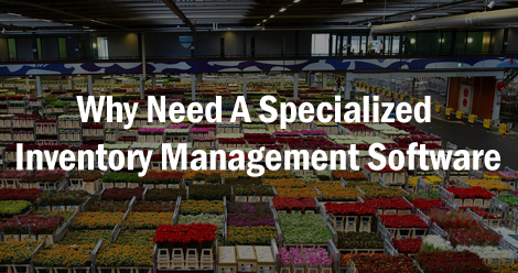why need specialized inventory software ss