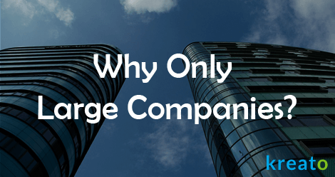 Why only large companies - SS