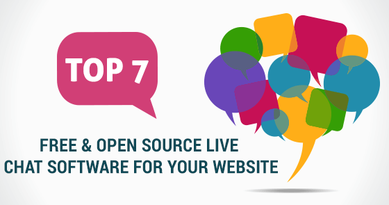 Top 7 free & open source live chat software