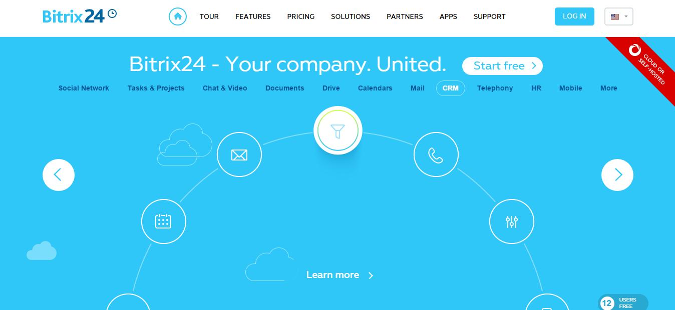 Bitrix24-Screenshot