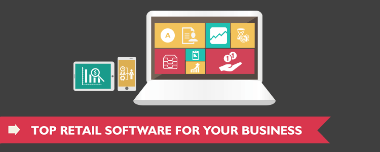 Top Retail Software for Your Business - Infographic - featured