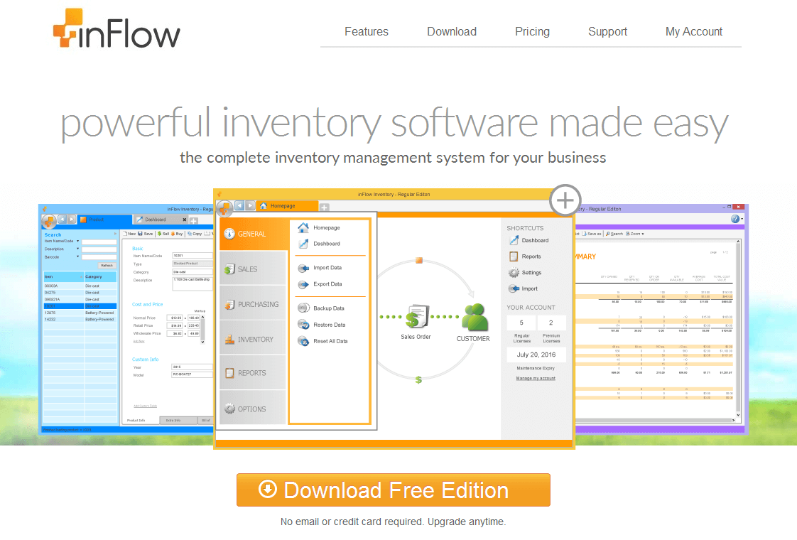 inventory management free download