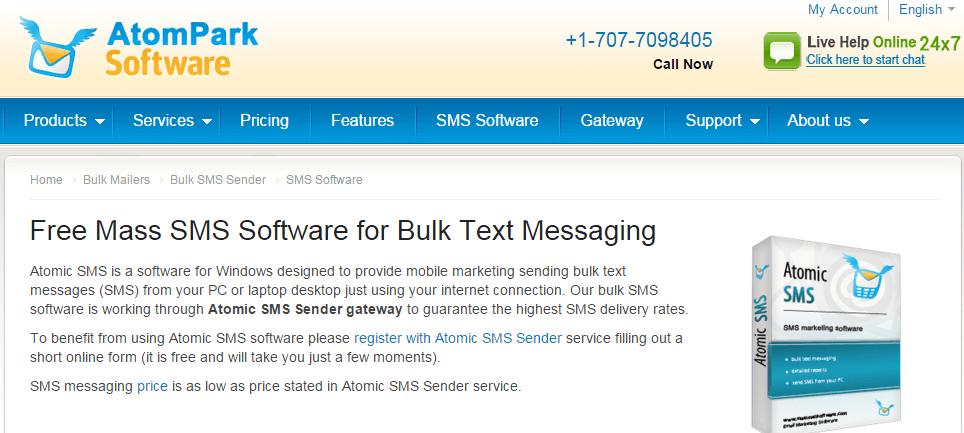 Atomic SMS