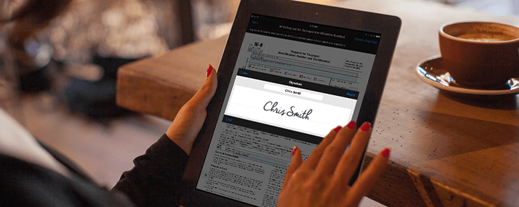 Business uses of electronic signature software featured