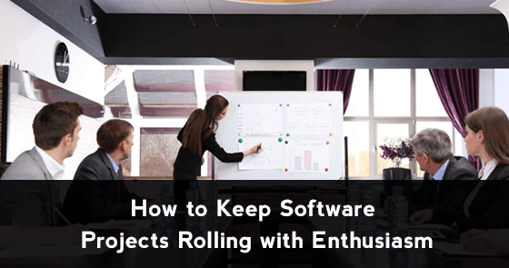 Momentum How to Keep Software Projects Rolling with Enthusiasm