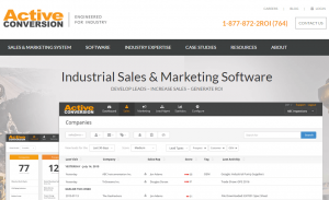 ActiveConversion- top 10 sales tools