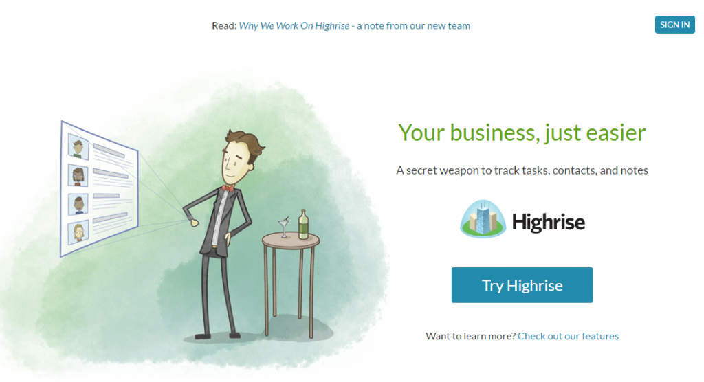 HighRise- salesforce alternatives