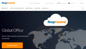 RingCentral- top 10 sales tools