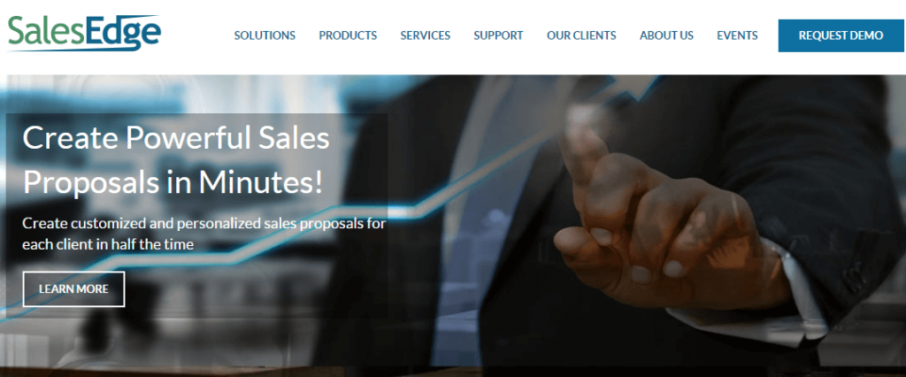 SalesEdge- top 10 sales tools