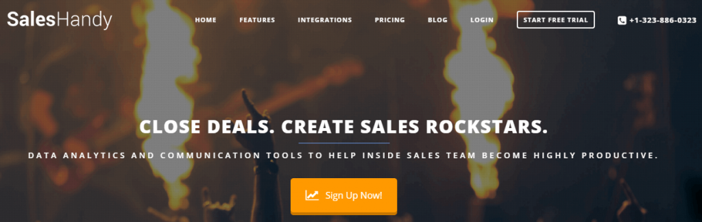 SalesHandy-- top 10 sales tools
