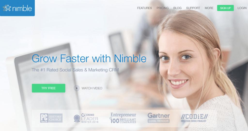 nimble- salesforce alternatives