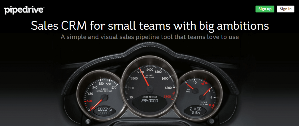 pipedrive- sales force alternatives