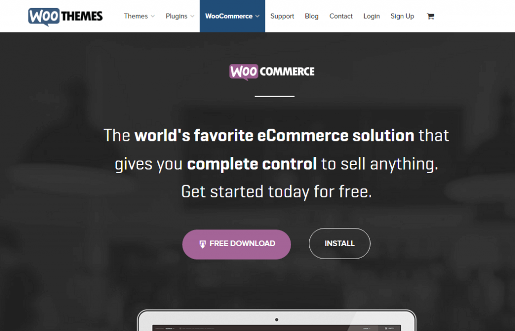 open source eCommerce Platform software - WooCommerce