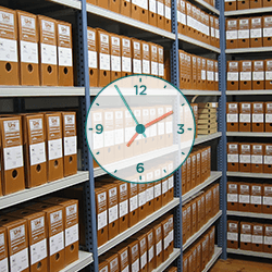 Saving time and storage facilities