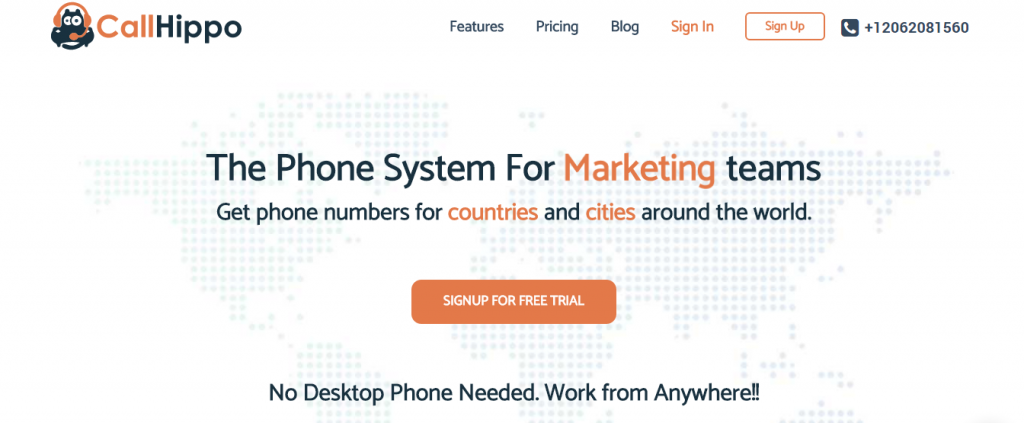 CallHippo - The virtual phone system