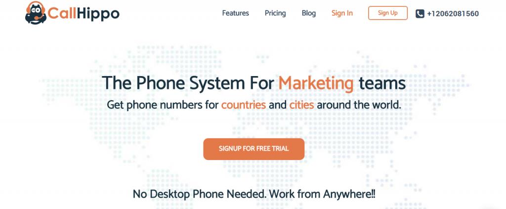 CallHippo - The virtual phone system