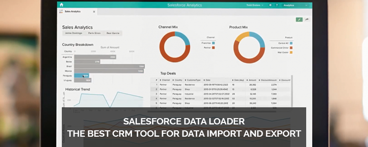 CRM tool data import export