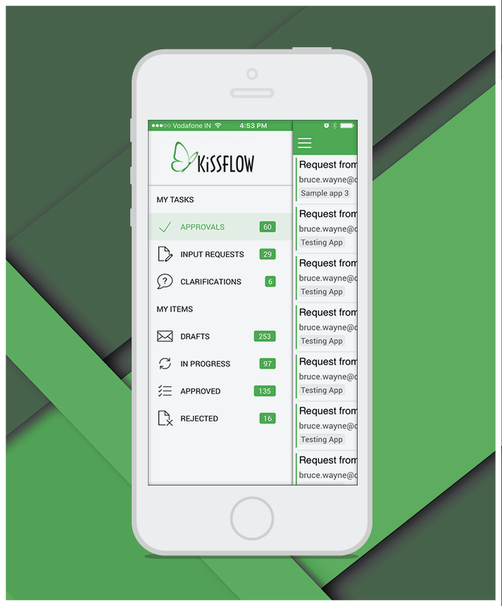 KissFlow Mobile App