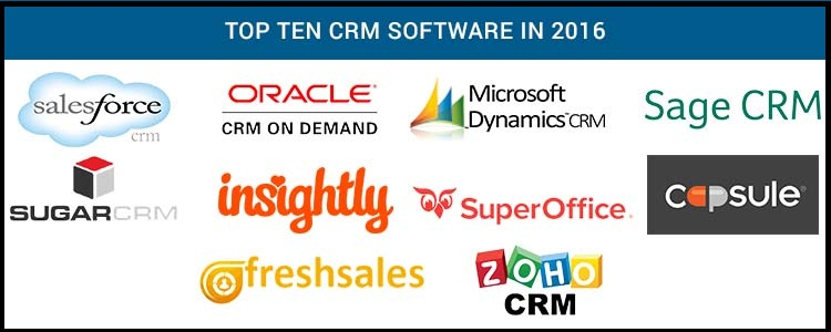 Featured Image- Top Ten CRM Software