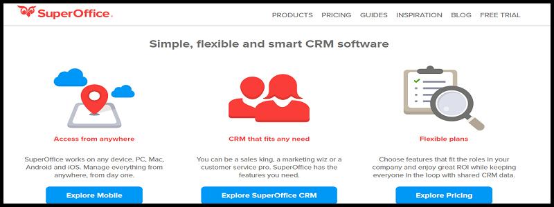 super office- top ten crm software
