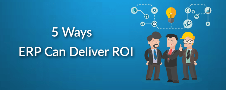 5 Ways ERP Software Can Deliver ROI (Return on Investment) – Infographic