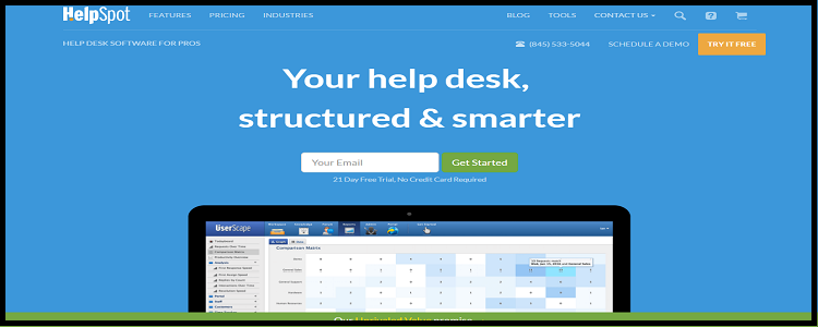 helpsoft- top 10 help desk software