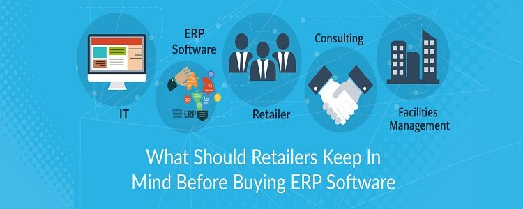 Rertailers ERP Software