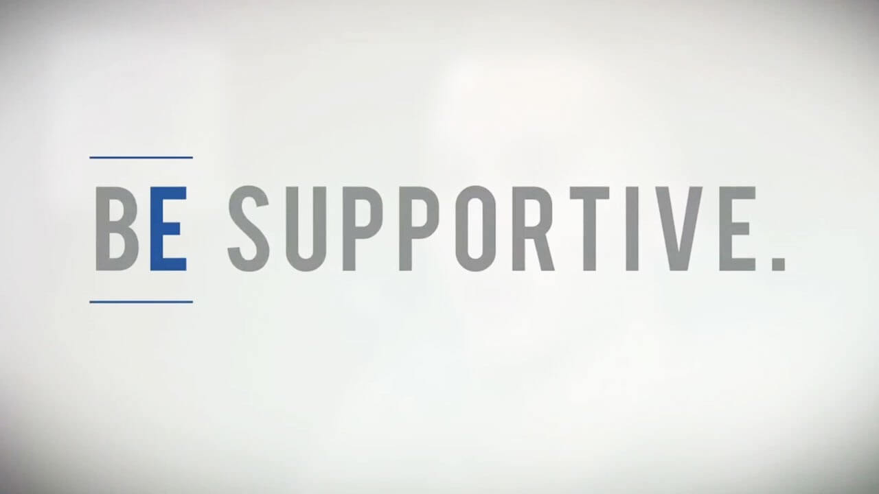 besupportive