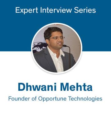 dhwani mehta opportune interview