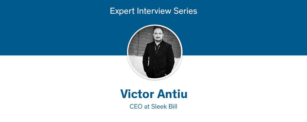 Sleek Bill CEO expert interview
