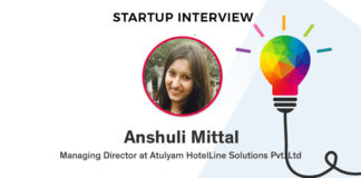 Startup interview with Anshuli Mittal, MD of Atulyam Hotelline