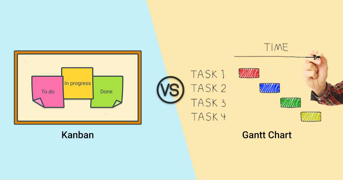 Gantt Charts Vs Kanban What To Use For Your Project Management