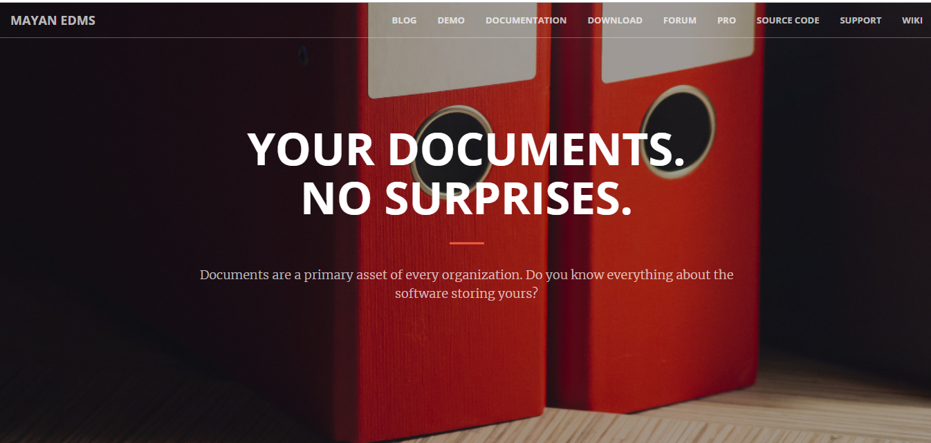 Top 10 Free and Open Source Document Management System