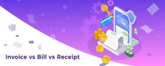 Invoice vs Bill vs Receipt