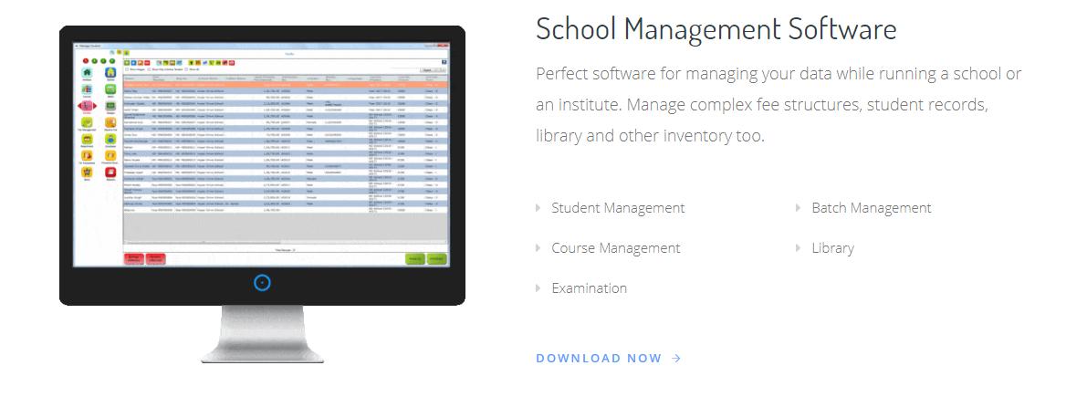 hdschool school management system