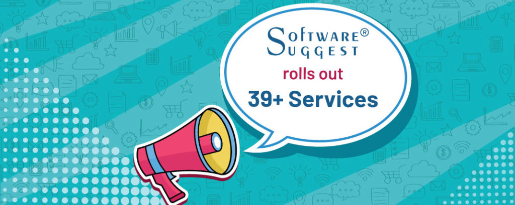 SoftwareSuggest rolls out 39+ Categories