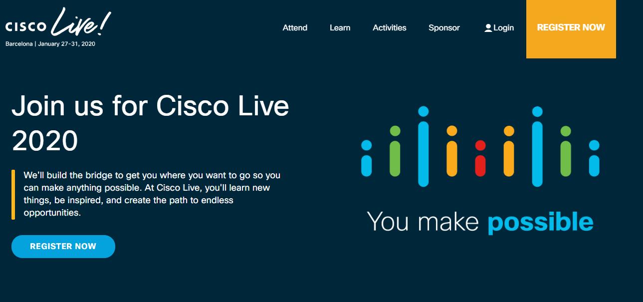 Cisco Live EMEA 2020 - Barcelona