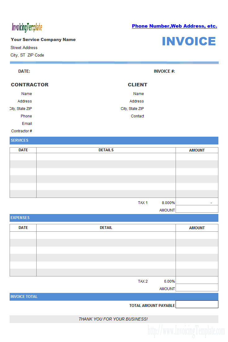 The Best Contractor Invoice Templates To Simplify Your Business