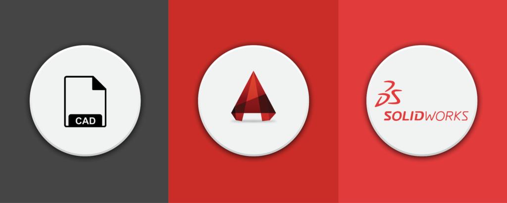 CAD vs AutoCAD vs Solidworks