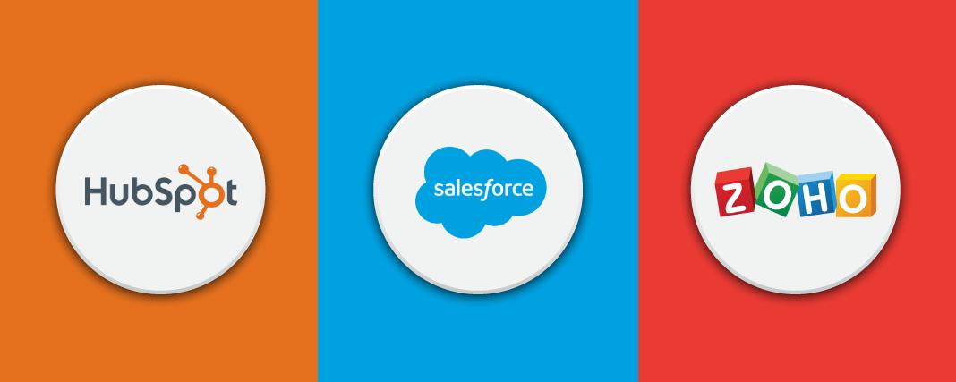 HubSpot vs Salesforce vs Zoho