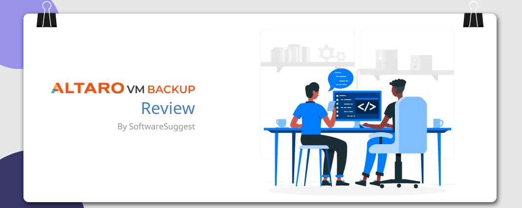 Altaro VM Backup review