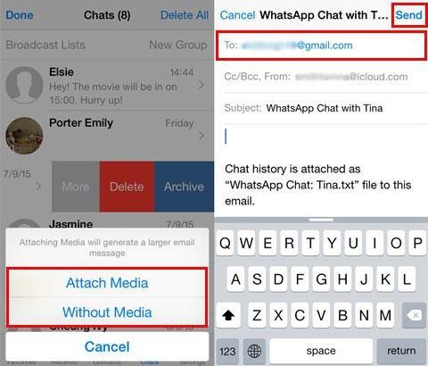 Back up iPhone WhatsApp Chat History with FonePaw WhatsApp Transfer
